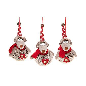 Joe Davies Merry Hanging Pompom Mice 292380