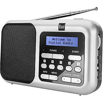 Dual DAB 4.2 Desk radio DAB+, DAB, FM DAB+, FM Silver