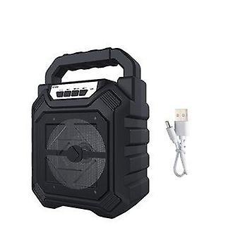 Mini Portable 5W Wireless bluetooth Colorful LED Speaker