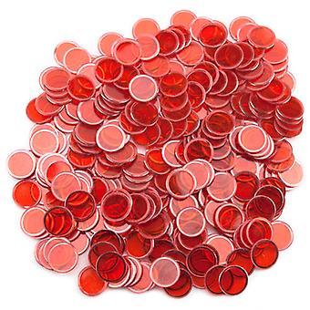 300パック赤磁気ビンゴチップ