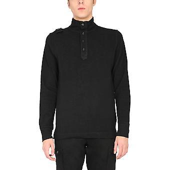 Ma.strum Mas4453m000 Men's Black Cotton Sweater