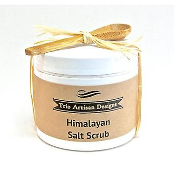 Himalayan Salt Scrub With Mini Wood Spoon