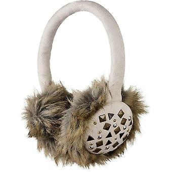 Cache-oreilles Audio KitSound Avec casque intégré Faux Fur Clouté