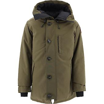 Canada Goose 3426mnf49 Men's Green Polyester Outerwear Jacket