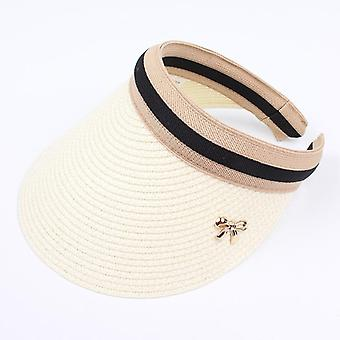 Adult, Child, Womens Sun Visor Hats, Handmade Diy Straw Summer Casual Empty