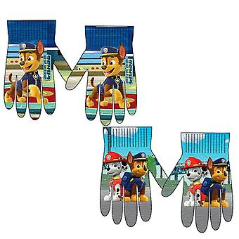 2-Pack Paw Patrol Chase & Marshall Mittens FingerMittens One Size