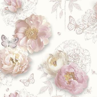 Arthouse Flower Garden Blush