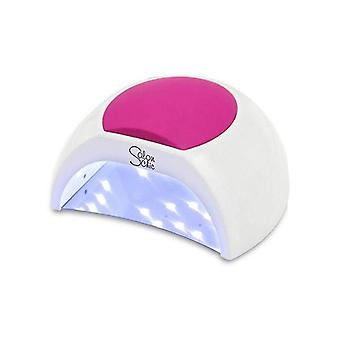48W Led Uv Nail Lamp Light Gel Polish Dryer Manicure Art Curing White
