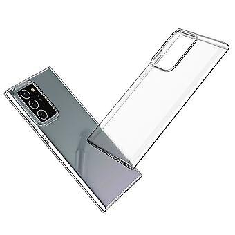 Coque Pour Samsung Galaxy Note20 Ultra, Housse De Protection En Silicone De Haute Qualité, Transparent
