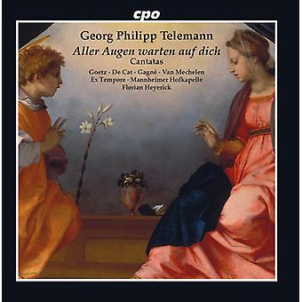 Telemann / Goetz - Cantatas [CD] USA import