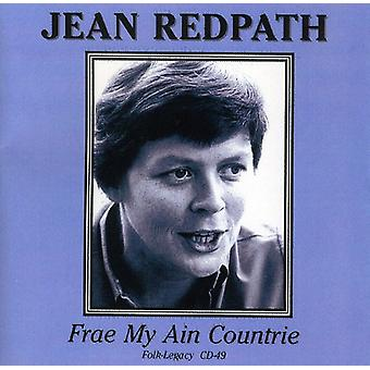 Jean Redpath - Frae My Ain Countrie [CD] USA import