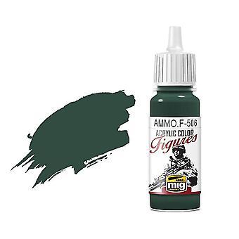 Ammo by Mig Figure Paints F-506 Medium Russian Green FS-34092