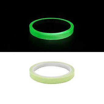 Glow In Dark Tape Photoluminescent Luminous Tape Self-adhesive Stage Home