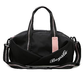 Women Sports Handbag With Seperate Shoes Compartment