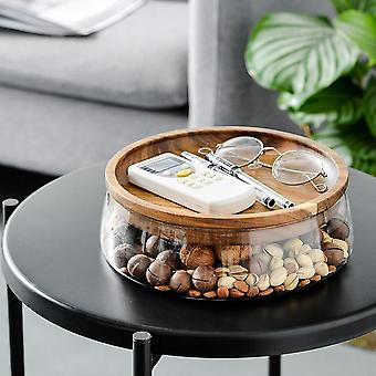 Creative Glass Nuts And Dry Fruits Storage Box Container