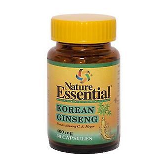 Koreanska Ginseng 50 kapslar av 400mg