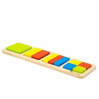 "Alatoys Wooden  Puzzles ""Fractions-square"""