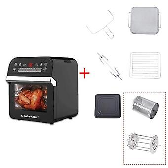 Biolomix 12l 1600w Air Fryer Oven Toaster Rotisserie And Dehydrator 16-in-1