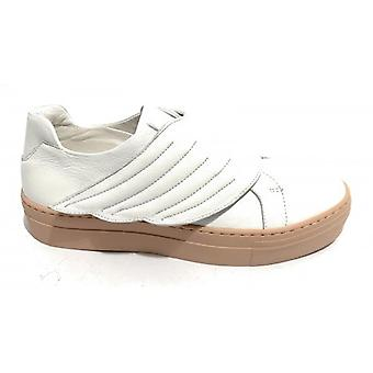 Sneaker Hope Mod. Fly Leather Nappa Color White/ Women's Pink Bottom Ds19ho02