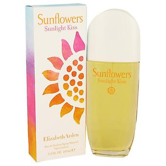 Zonnebloemen zonlicht Kiss Eau De Toilette Spray door Elizabeth Arden 3.4 oz Eau De Toilette Spray