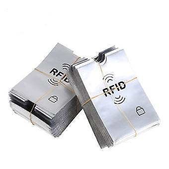 Anti-scan Sleeve, Credit Rfid Protector, Aluminum Foil Portable Bank Card