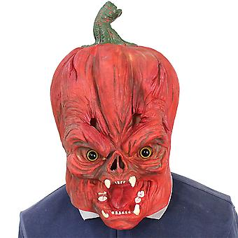 Masque de tête de citrouille Halloween Funny Masquerade Props Cosplay Head Cover Ghost Festival Latex Mask