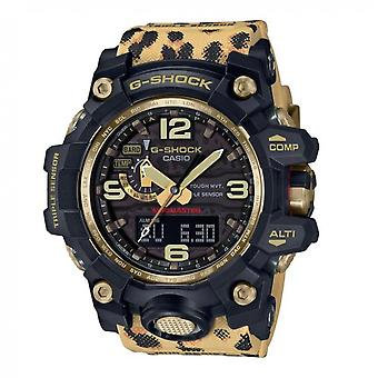 G-Shock Gm-110g-1a9er G-shock- Black And Gold Stainless Steel Watch