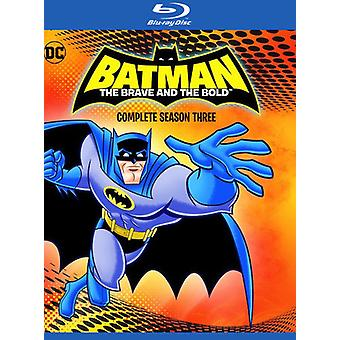 Batman: Brave & the Bold - Complete Third Season [Blu-ray] USA:n tuonti
