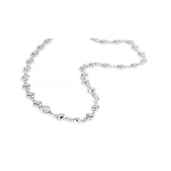 Traveller Necklace Rhodium Plated With Crystals From Swarovski - 157288 - 779