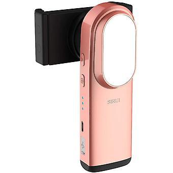 Sirui Es-01 Älypuhelimen kädessä pidettävä Gimbal-stabilointiaine täyttövalolla, peilillä ja Bluetooth-yhteydellä, jotka ovat yhteensopivia useimpien puhelinruusukujen kanssa
