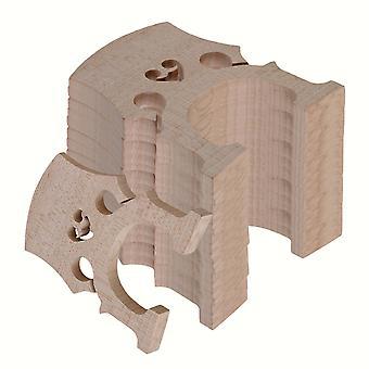4 /4 Burlywood Maple Bridge pour violoncelle Strings Wood Full Size Set of 20