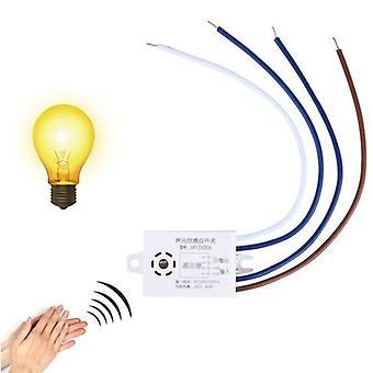 220v moduldetektor automatisk slået fra intelligent lyd stemmesensor lyskontakt