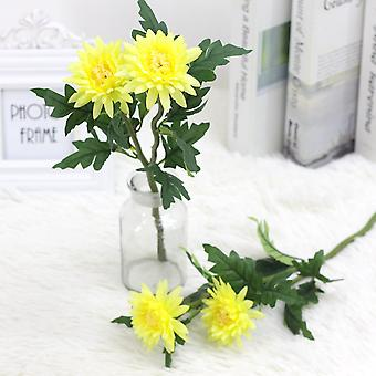 5pcs flor artificial crisantemo artificial flor seca falsa flor