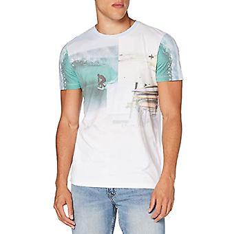 Tom Tailor Fotoprint T-Shirt, 20000/White, S Man(2)