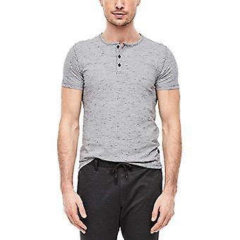 s.Oliver 13.002.32.5100 T-Shirt, Blue (Blue 59w0), Large Man