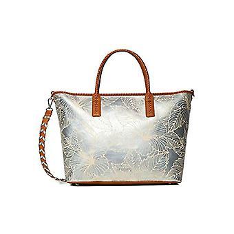Desigual Bols_Akela هولبوكس - حقيبة الكتف النسائية، اللون: الفضة