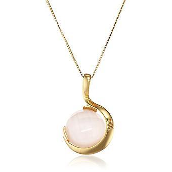 MISIS Women-Necklace Pienza Argento 925 Opal Rose 48.2 cm - CI05498R