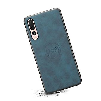 Leather case with wallet card slot for Samsung S10LITE retro blue
