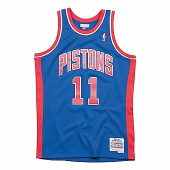 M&N Swingman Mesh Jersey Detroit Pistons 88-89 Isiah Thomas