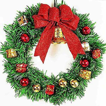 Festival de Navidad Puerta Perchas Jingle Bell Perchas Pequeños Colgantes de Hierro