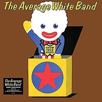 Genomsnittligt vitt band - Visa din handfärgade vinyl