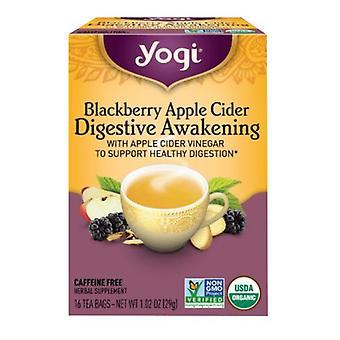 Yogi Blackberry Apple Cider Vinegar Digestive Awakening, 16 Count