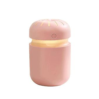 Pink 7.8x7.8x12.3cm aromatherapy car humidifier homi3733