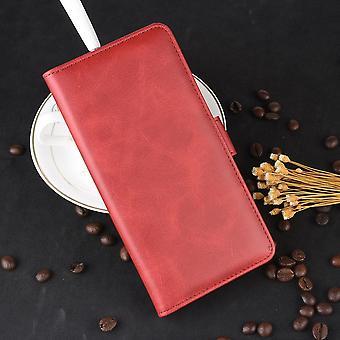 Étui de téléphone pour vivo y20 coque arrière porte-carte flip sac de portefeuille en cuir