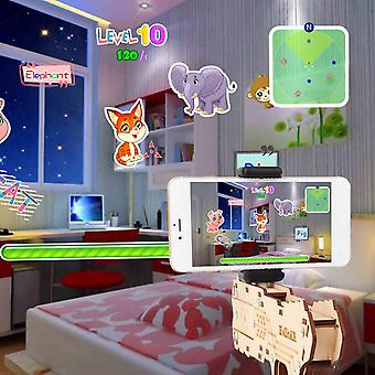 Children Bluetooth Connection Ar Game Augmented Reality Extendable Diy Toy Gun