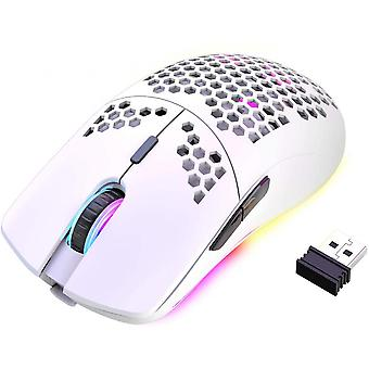 Wireless Gaming Mouse Lightweight Honeycomb Design