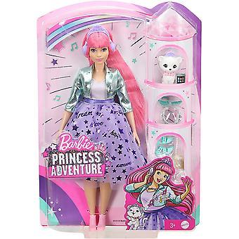 Barbie GML77 Eventyr Deluxe Prinsesse Dukke