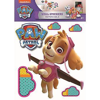 Paw Patrol Wall Sticker A3 Skye Producto con licencia oficial