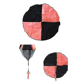 3шт парашют игрушка детские летающие игрушки для детей подарки (оранжевый)
