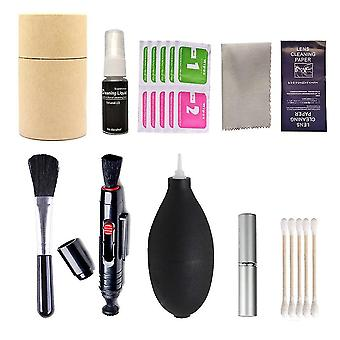 Digital Camera Cleaning Kit -brush Air Blower Wipes And Cloth